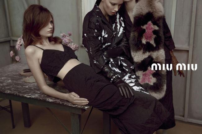 MIU MIU Fotografen: Inez van Lamsweerde & Vinoodh Matadin © PR  Themen: MIU MIU, KAMPAGNEN, FRÜHJAHR/SOMMER 2013