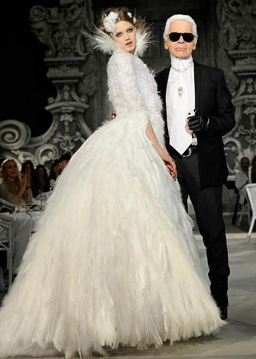 Brautkleid von Chanel, Haute Couture Week in Paris / Foto: Chanel