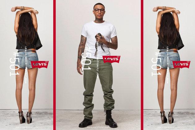 """Zum Jubiläum der """"501"""" startet Levi's eine digitale Galerie mit Bildern der ikonischen Jeans (Bilder: PR)"""