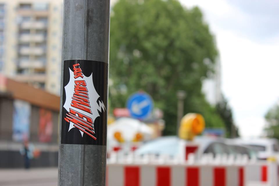 """""""Lak bauma ein"""" - Überall zu finden"""