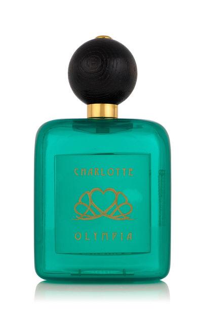 """Parfum-Clutch """"Absinthe"""" von Charlotte Olympia, 915 Euro © PR - mit CHARLOTTE OLYMPIA"""