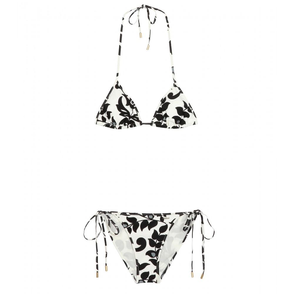 Print Triangle Bikini auf www.mytheresa.com /  http://www.mytheresa.com/en-de/print-triangle-bikini.html / gerade im Sale für 119 €