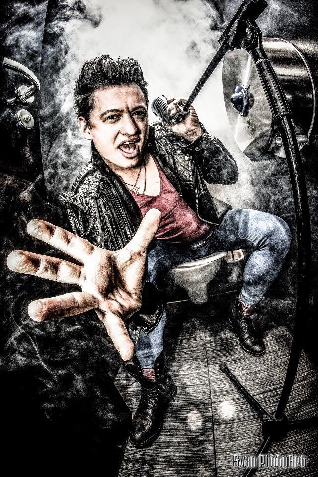 Sänger Mikey Cyrox / Foto: Svan PhotoArt
