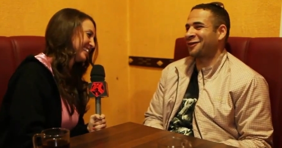 Beety Rap und Mike Adler im Interview  - Sie hat sichtlich Spaß an der Arbeit